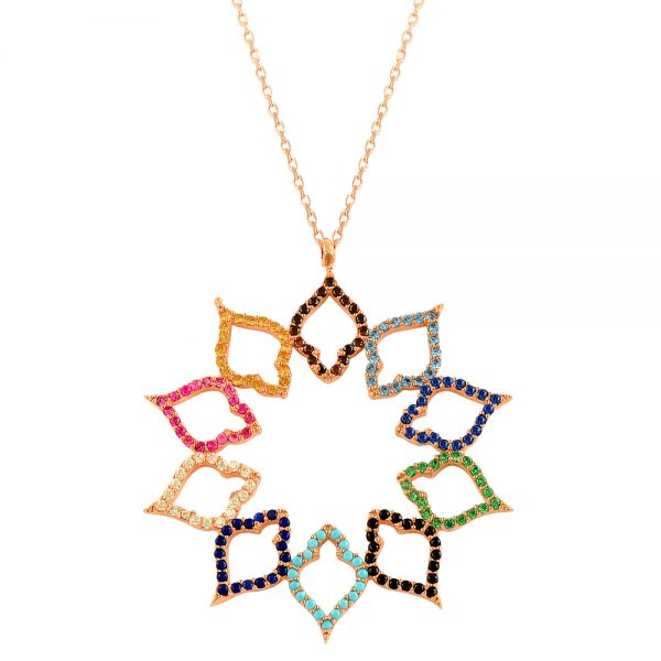 United Colors Handmade Sterling Silver Necklace
