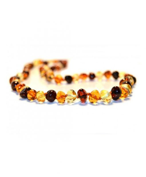 multi color adult amber necklaceKT001-K07-510x617