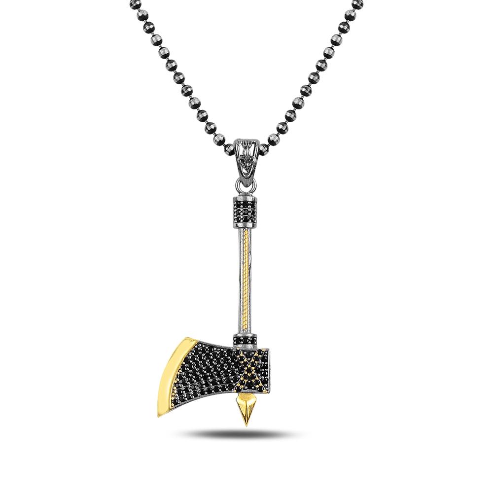Axe Silver Necklace