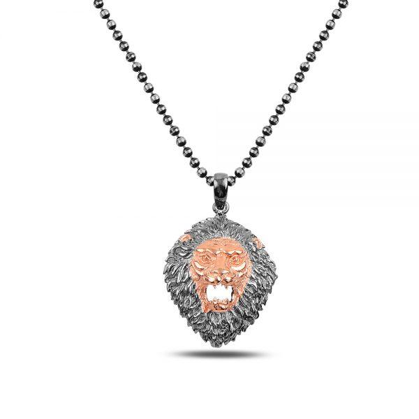 Lion Silver Necklace