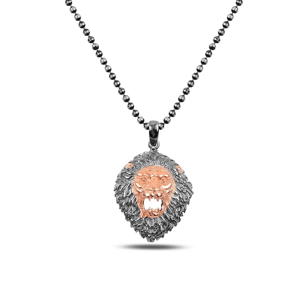 Lion Silver Necklace