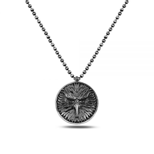 Eagle Silver Necklace