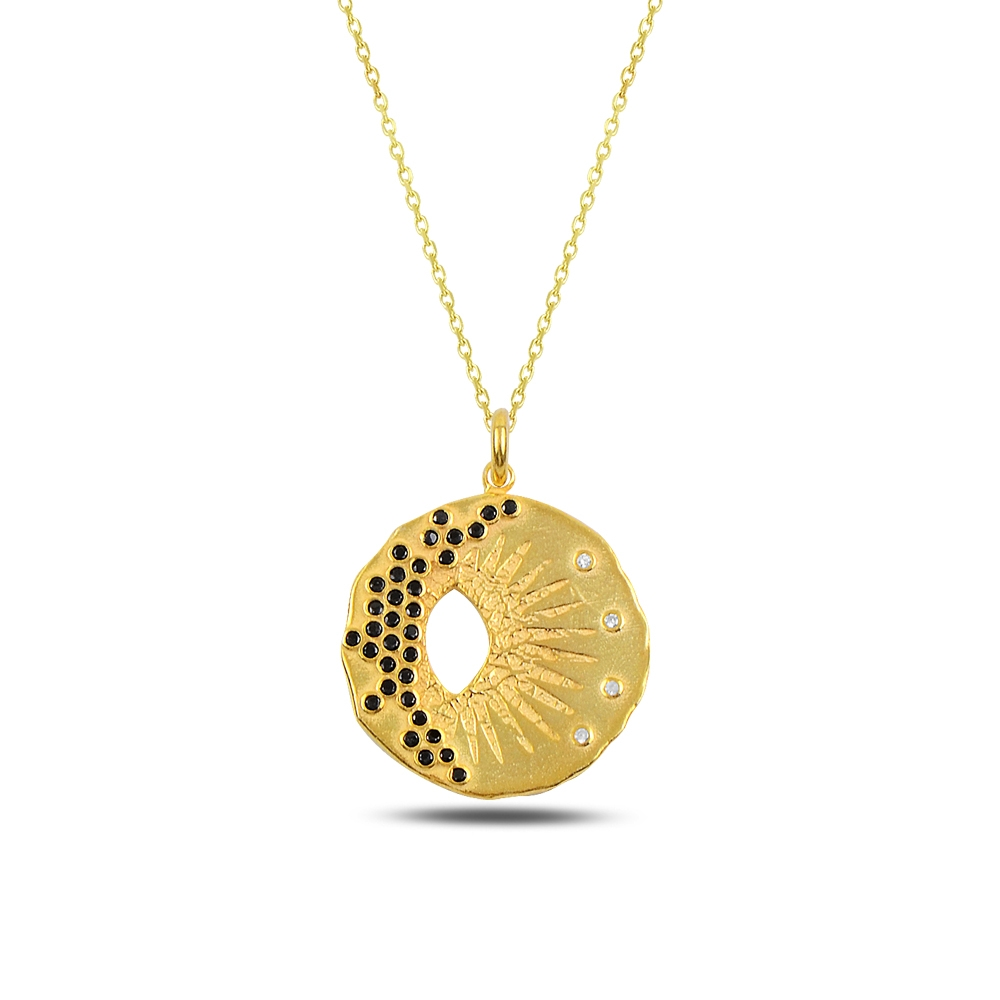 Sun Silver Necklace
