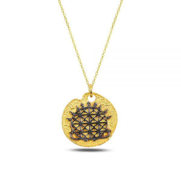 Hittite Silver Necklace