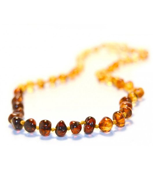 Rainbow Color Amber Necklace