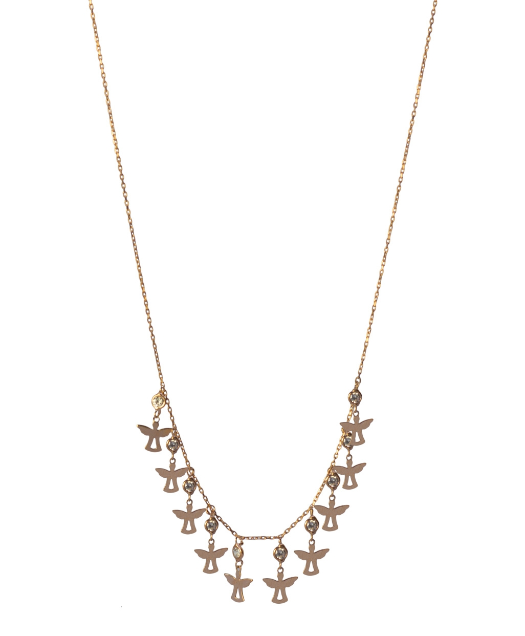 Gourmet Angel Silver Necklace