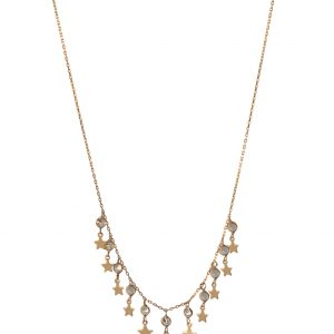 Gourmet Star Silver Necklace