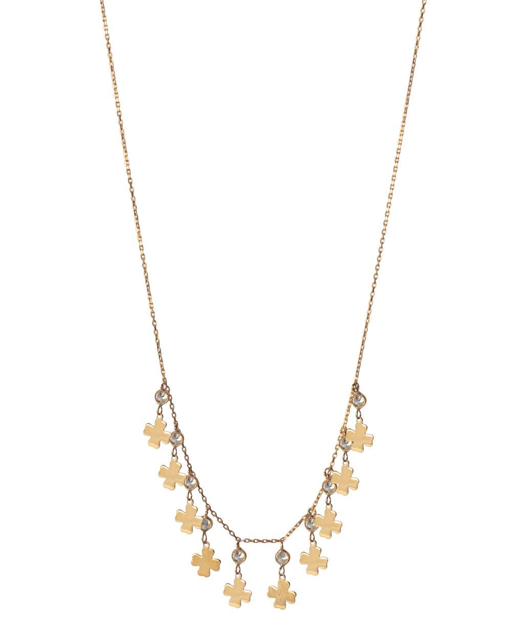 Gourmet Clover Silver Necklace