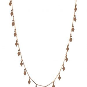 Dimond Silver Necklace-1