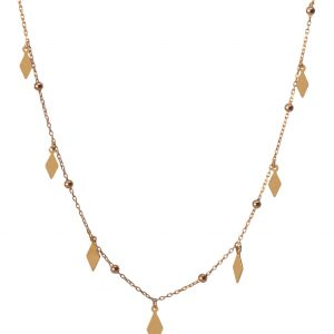 Diamond Silver Necklace