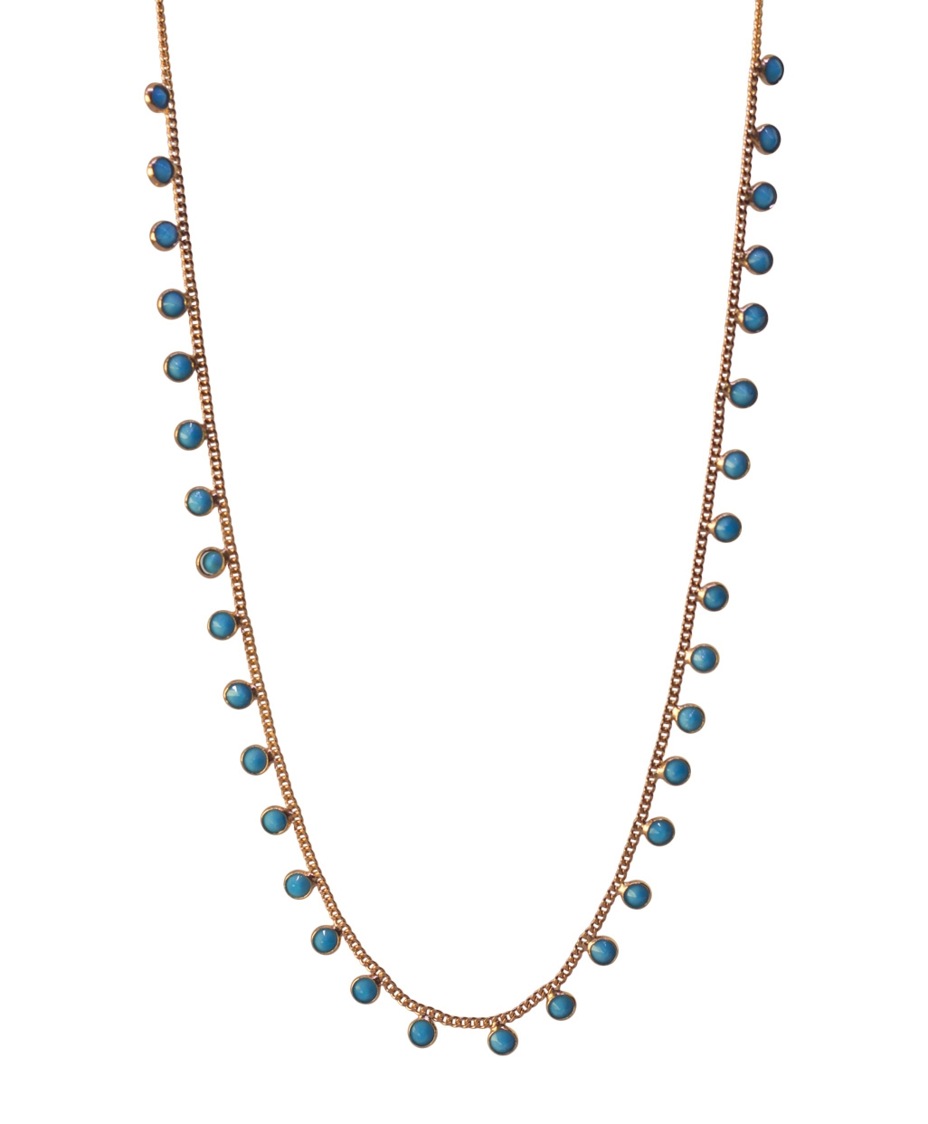 Turquoise Gourmet Silver Necklace