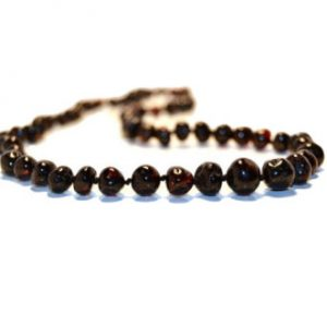 Cherry Color Amber Necklace