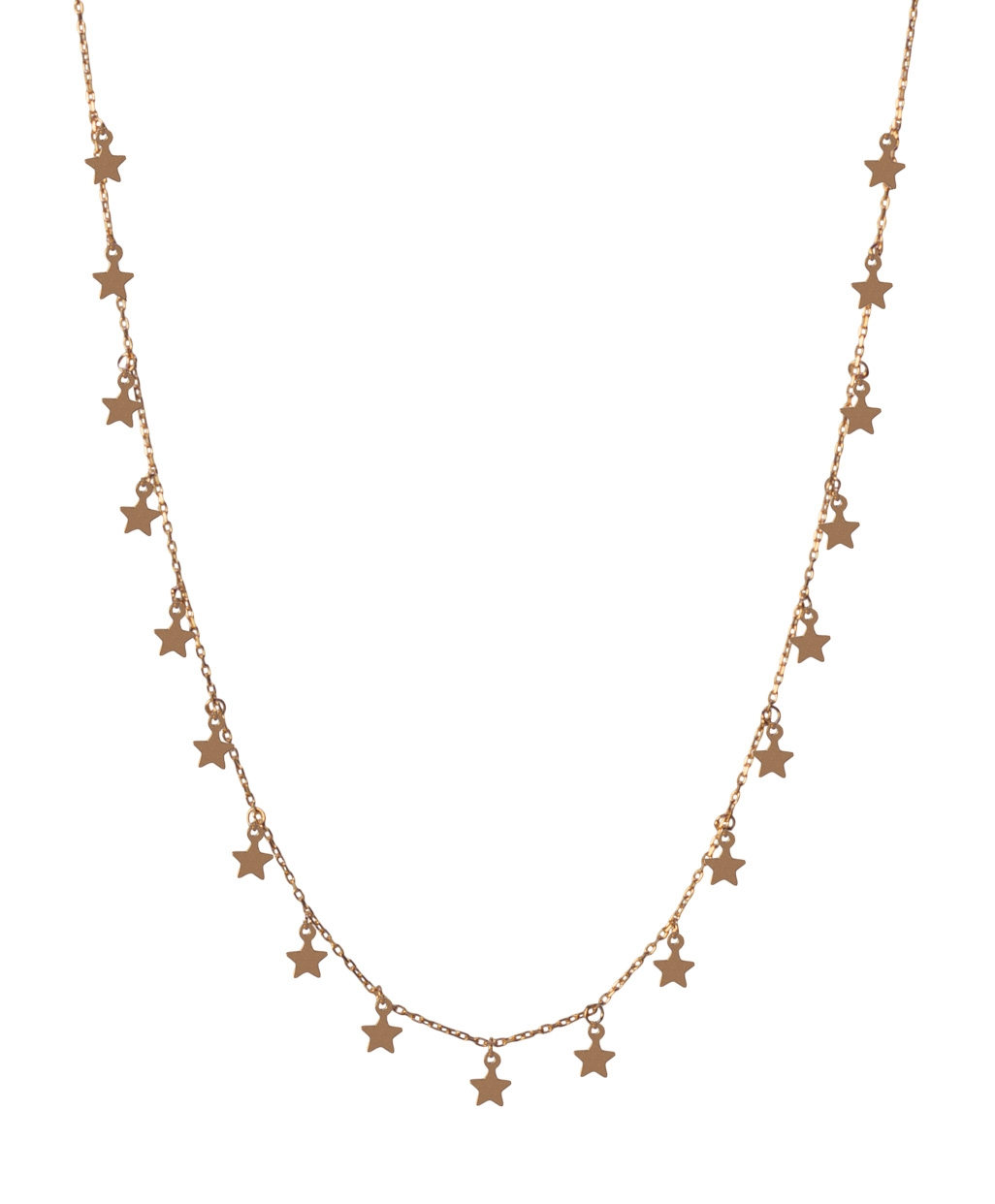 Star Silver Necklace-1
