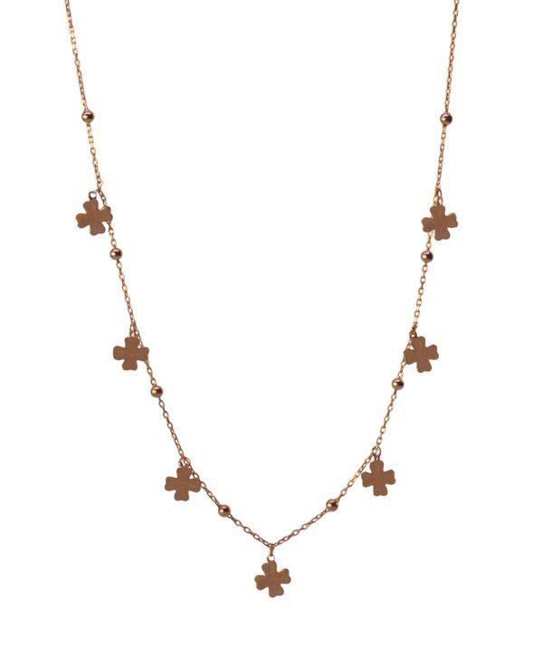 Clover Silver Necklace