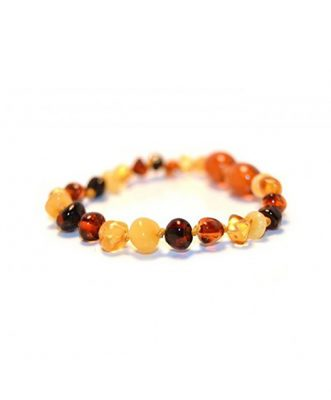 Multi Color Amber Bracelet