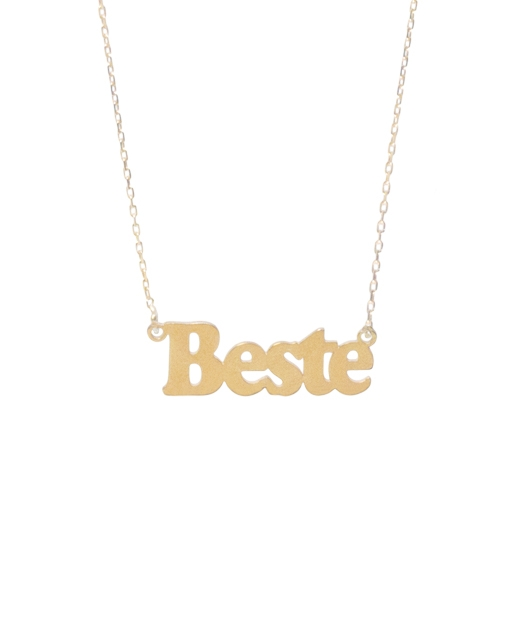 Custom Design Silver Name Necklace